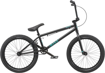 "Radio Dice 20"" 2019 Complete BMX Bike 20"" Top Tube Matte Black"