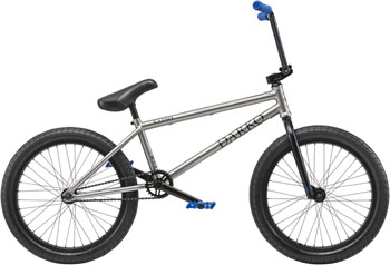 "Radio Darko 20"" Complete BMX Bike 20.5"" Top Tube Matte Silver"