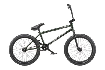 "Radio Comrad 20"" 2019 Complete BMX Bike 21"" Top Tube Green Flake"