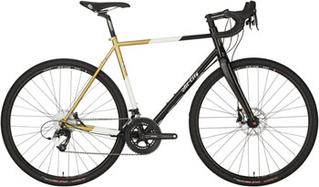 All-City Cosmic Stallion Bike 46cm Black/White/Gold