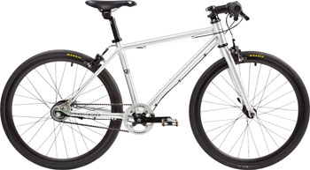 "Early Rider Belter Urban 3 Complete Bike: 20"" Wheels, Flat Bar, Silver"