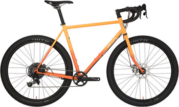 All-City Gorilla Monsoon Bike 46cm Orange Fade