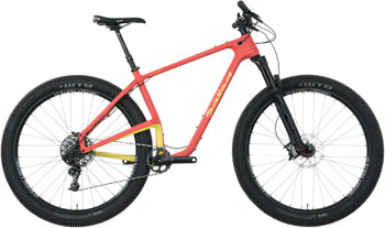 Salsa Woodsmoke X01 29+ Bike XS Red/Yellow
