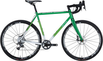 All-City 46cm Macho King Limited Complete Bike, Green/White Fade