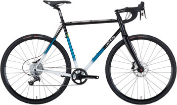 All-City 46cm Macho King Complete Bike, Black/Teal Fade
