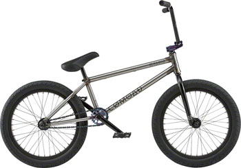 "Radio Comrad 20"" 2018 Complete BMX Bike 21"" Top Tube Glossy Raw"