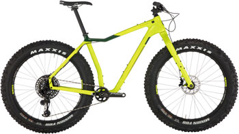 Salsa Mukluk Carbon GX Eagle Bike LG Lime Green