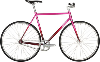 All-City Big Block Bike - 700c, Steel, Pink Fade, 61cm