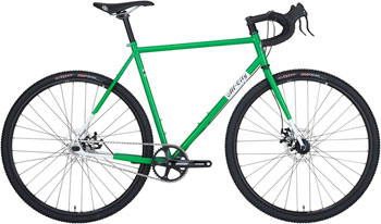 All-City Nature Boy Disc Complete Bike 46cm, Green/White