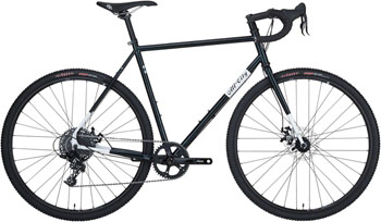 All-City Macho Man Disc Complete Bike 43cm, Sparkle Black/White