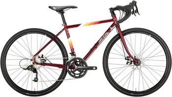 All-City Space Horse Disc 700c Complete Bike 49cm, Dark Red