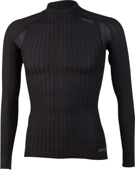 Craft Active Extreme 2.0 Men's Crewneck Long Sleeve Top: Black LG