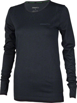 Craft Active Comfort Women's Long Sleeve Top: Black LG