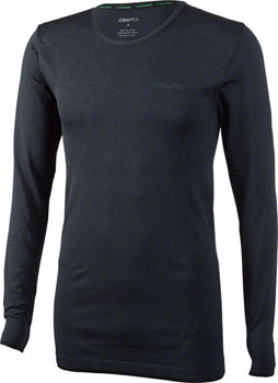 Craft Active Comfort Men's Long Sleeve Top: Black LG