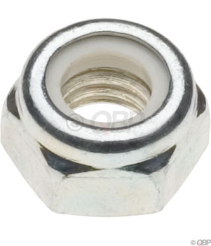 M6 Nylock Nut, Zinc: Bag/20