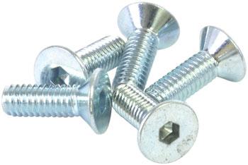 Wheels Manufacturing M4x12 Flat Head Screw, Bag of 5