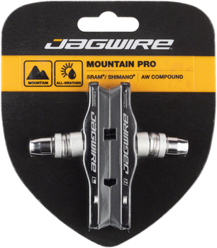 Jagwire Mountain Pro Brake Pad Replacement Inserts Black