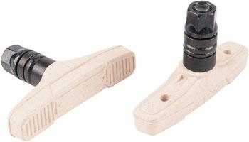 Eclat Force Brake Pads - Regular Bolt, White