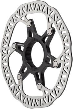 Jagwire Pro LR1 Disc Brake Rotor - 203mm, Center Lock, Silver/Black