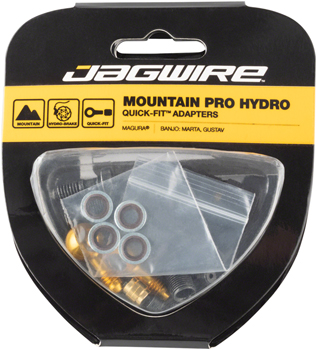 Jagwire Mountain Pro Disc Brake Hydraulic Quick-Fit Adaptor Orion//Auriga//Gemini