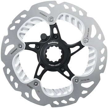 Shimano Centerlock Rotor Lock Ring Black Deore XT XTR Ultegra Rotors Grey x2