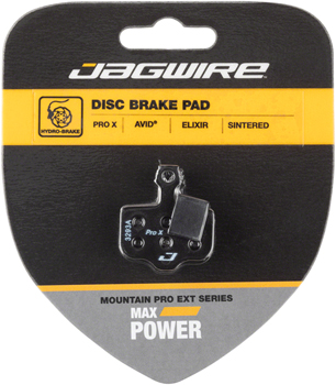 Jagwire Mountain Pro Extreme Sintered Disc Brake Pads for Avid Elixir R, CR Mag, 1, 3, 5, 7, 9, X.O, XX, World Cup