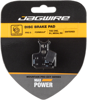 Jagwire Mountain Pro Extreme Sintered Disc Brake Pads for Formula R1R, R1, T1, RX, RO