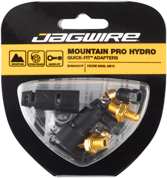 Jagwire Mountain Pro Disc Brake Hydraulic Hose Quick-Fit Adaptor for Shimano