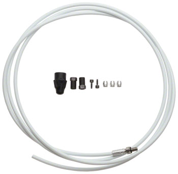 Avid Elixir Hydraulic Line Kit, Fits Elixir 5, R, CR, X0, CR, Mag, 2012+ XX, Trail, 2 Meters, White