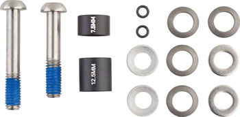 Avid 20mm Disc Post Spacer Kit with Titanium Standard Bolts