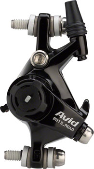 Avid BB7S Road Cable Disc Brake Black Anodized, CPS, Rotor/Bracket Sold Separately