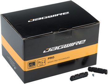 Jagwire Road Pro S Brake Pad Inserts SRAM/Shimano Box of 50 Pairs, Black