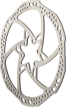 Hayes L7 Disc Brake Rotor - 180mm, 6-Bolt, Silver