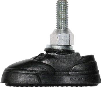Kool-Stop Vans Brake Pad: Pair, Black