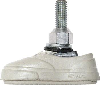 Kool-Stop Vans Brake Pad: Pair, White