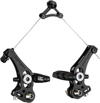 TRP ReVox Canitlever Brakes Front and Rear, Alloy Black/Black