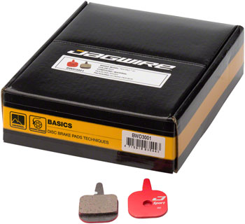 Jagwire Mountain Sport Disc Brake Pads for Tektro IO: Box of 25 Pairs