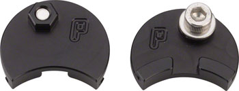 Paul Component Engineering Moon Unit Cable Carrier, Black, Pair