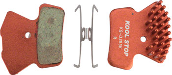 Kool-Stop Aero-Kool Disc Brake Pad: Fits Avid XO Trail, SRAM Guide, Dual Piston Avid Elixir 7 and 9