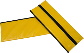 Burley Rental Cub Seat Pad: Yellow, For 2014-Present Rental Cub Models