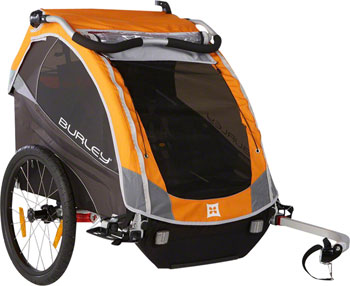 Burley D'Lite Child Trailer: Orange