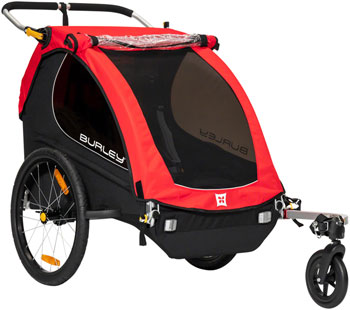 Burley Honey Bee Child Trailer: Red