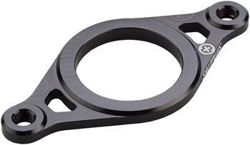 Salt Plus Geo 6061-T6 Rotor Plate Black