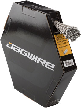 Jagwire Brake Cable Basics 1.6x2000mm Stainless SRAM/Shimano Road, Box of 100