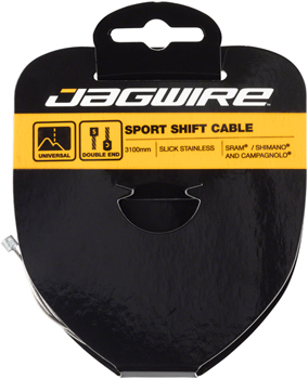 Jagwire Sport Tandem Derailleur Cable Slick Stainless 1.1x3100mm Shimano