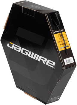 New Jagwire 4mm Sport Derailleur Housing with Slick-Lube Liner 10M Roll Black