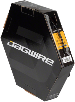 Jagwire 5mm Basics Derailleur Housing 50M File Box, Black