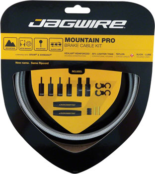 Jagwire Mountain Pro Brake Cable Kit, Sterling Silver