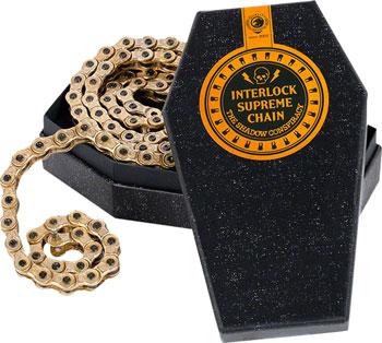 The Shadow Conspiracy Interlock Supreme Half link Chain Gold