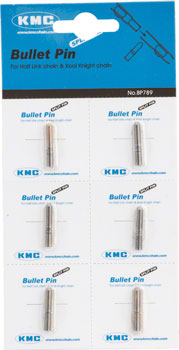KMC Bullet Pin Connector: Fits HL710, HL810 and KK710 Chains, Card/6